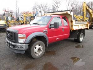 2008 Ford F-450 XL Dump Truck