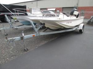 1996 McKee Craft 16' Center Console Boat