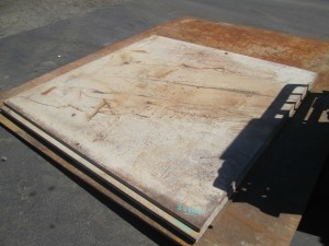 6' x 6' Road Plate