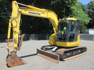 2013 Komatsu PC78US-8 Midi Excavator
