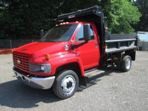 2005 Chevrolet C4500 S/A Dump Truck