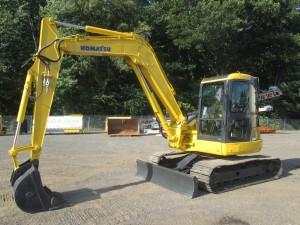 2008 Komatsu PC88MR-6 Midi Excavator