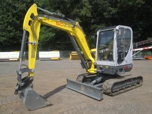 2015 Wacker Neuson 50Z3 Mini Excavator