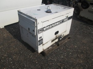 (2) Whisperwatt 7000 Portable Generators