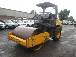 2011 Volvo SD70D Smooth Drum Vibratory Roller
