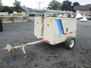 1993 Ingersoll Rand L6A-4MH Tow Behind Light Plant
