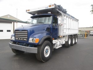 2004 Mack CV713 Tri/A Dump Truck