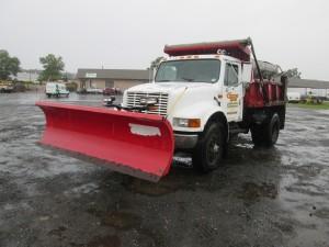 1992 International 4900 S/A Dump Truck