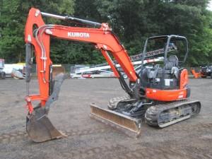 2012 Kubota U55 Mini Excavator