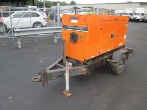 Whisperwatt 25 Tow Behind Generator
