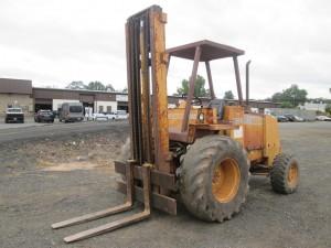 1987 Case 586E Rough Terrain Forklift