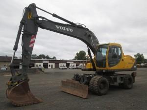 2003 Volvo EW170 Rubber Tire Excavator