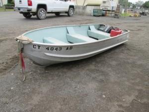 14' Sea Nymph Aluminum Boat