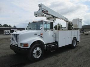 1997 International 4700 S/A Bucket Truck