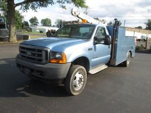 2001 Ford F-550 XL Service Truck