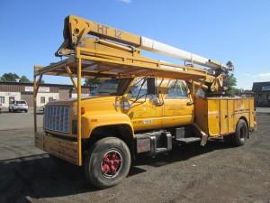 1991 GMC Topkick S/A Bucket Truck
