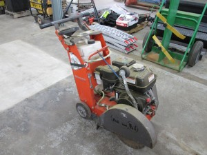 2014 Husqvarna FS400LV Walk Behind Road Saw