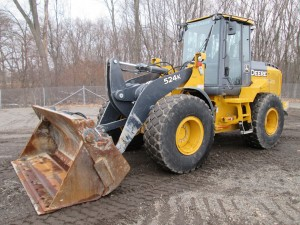 2015 John Deere 524K Rubber Tire Wheel Loader