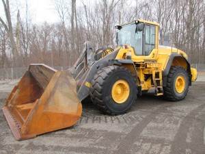 2011 Volvo L180G Rubber Tire Wheel Loader