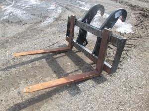 """CAT 48"""" Wheel Loader Forks"""