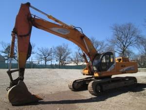 1997 Samsung SE450LC-2 Hydraulic Excavator