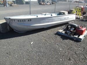 """Sea Nymph 13' 6"""" Aluminum Boat"""