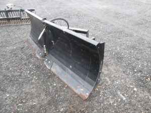 """Quick Attach 98"""" Power Angle """"V"""" Plow With BOCE"""