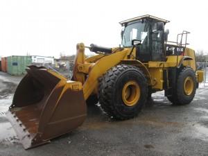 2012 Caterpillar 966K Rubber Tire Wheel Loader