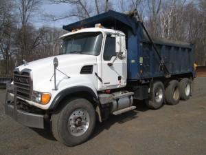 2003 Mack Granite CV713 Tri/A Dump Truck