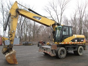 2007 Caterpillar M322D Rubber Tire Excavator