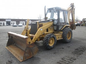 1995 Caterpillar 426B Backhoe Loader