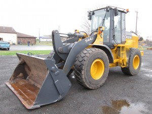 2008 John Deere 544J Rubber Tire Wheel Loader