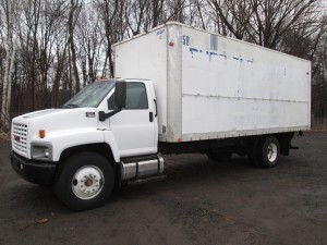 2007 GMC C7500 S/A Box Truck
