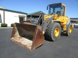 2004 Volvo L70E Rubber Tire Wheel Loader