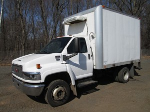 2007 GMC C5500 Refrigerated Box Truck