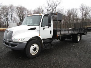 2014 International 4300 Durastar Rack Body Truck