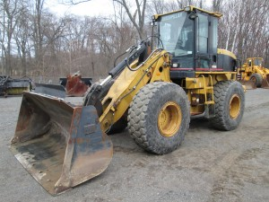 2001 Caterpillar 924G Rubber Tire Wheel Loader