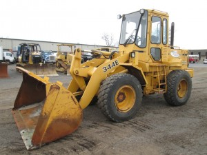 1989 John Deere 344E Rubber Tire Wheel Loader