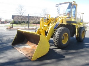 1996 Samsung SL120-2 Rubber Tire Wheel Loader