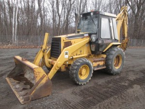 1996 Caterpillar 416B Backhoe Loader
