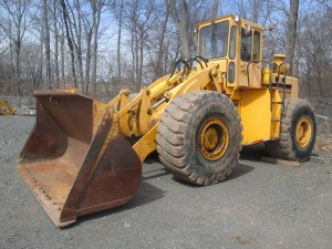 1978 Trojan 3000C Rubber Tire Wheel Loader