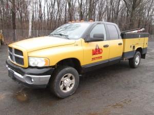 2003 Dodge Ram 3500 Utility Body Truck