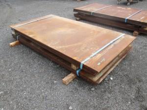 (6) Steel Road Plates