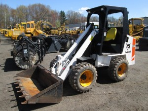 Melroe Bobcat 2000 Rubber Tire Wheel Loader
