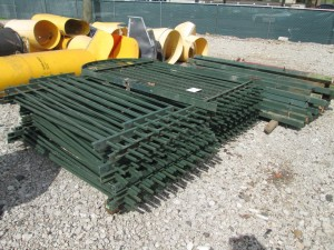 Assorted Metal Fence