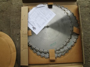 "(3) 20"" DSI Diamond Tip Saw Blades"