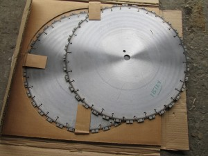 "(2) 20"" DSI Diamond Tip Saw Blades"