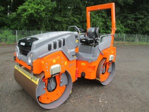 2018 Hamm HD14VV Double Drum Vibratory Roller