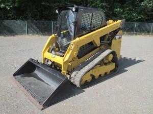 2016 Caterpillar 249D Track Skid Steer