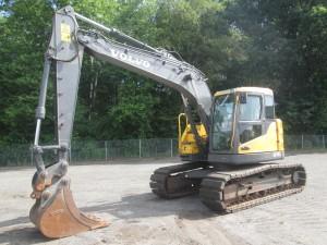 2012 Volvo ECR145CL Hydraulic Excavator